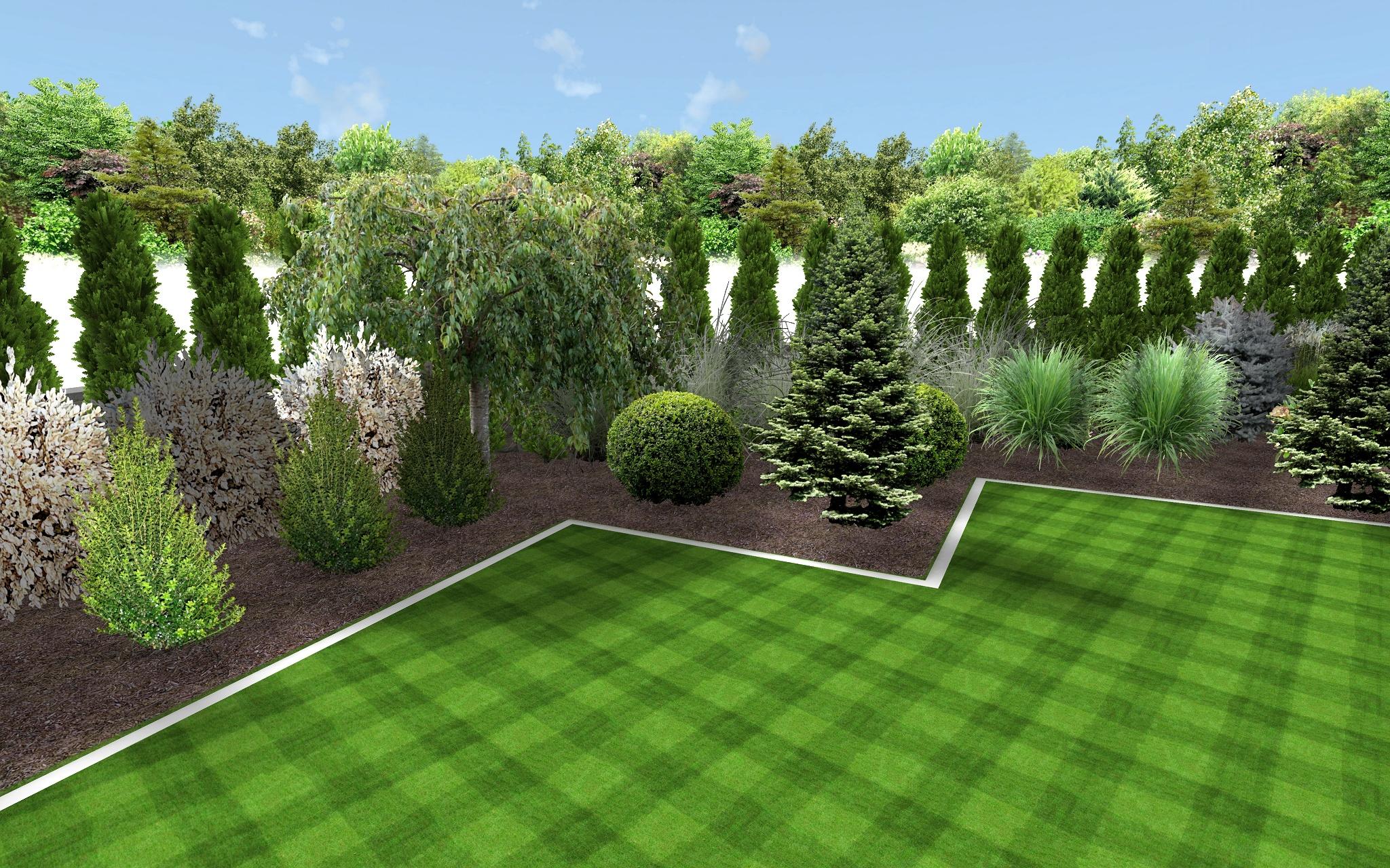 Wizualizacje 006 Garden Design Projektowanie Ogrod W
